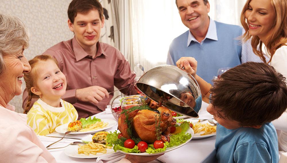 Turkey at Thanksgiving