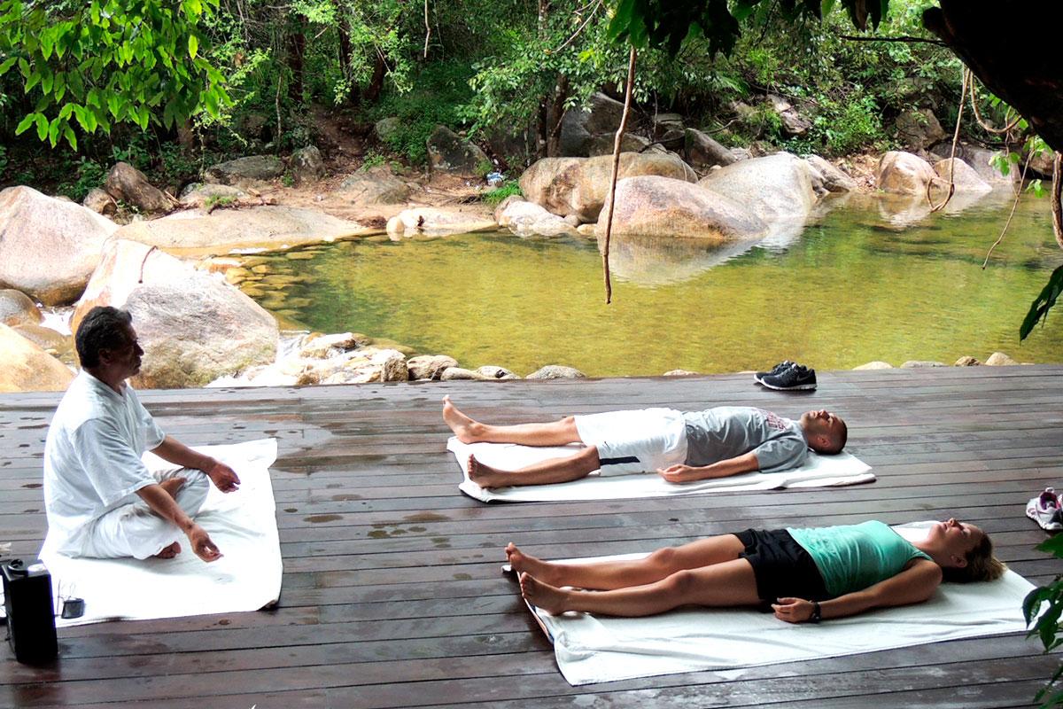 Kundalini Yoga at Garza Blanca Preserve