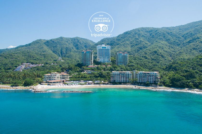 Garza Blanca Puerto Vallarta Awarded TripAdvisor Certificate of Excellence in 2019