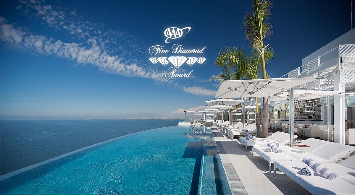 AAA Five Diamond Award 2016 for Garza Blanca Preserve's Hotel Mousai