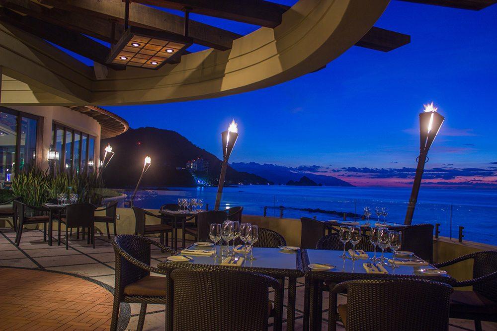 Blanca Blue Restaurant Puerto Vallarta