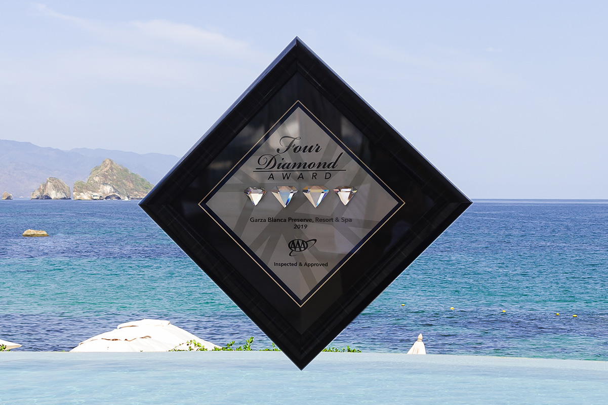 Garza Blanca Preserve Resort & Spa Receives Four Diamond Award in 2019