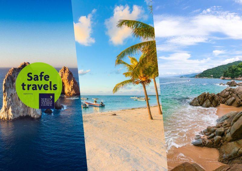 Puerto Vallarta Sello Safe Travels