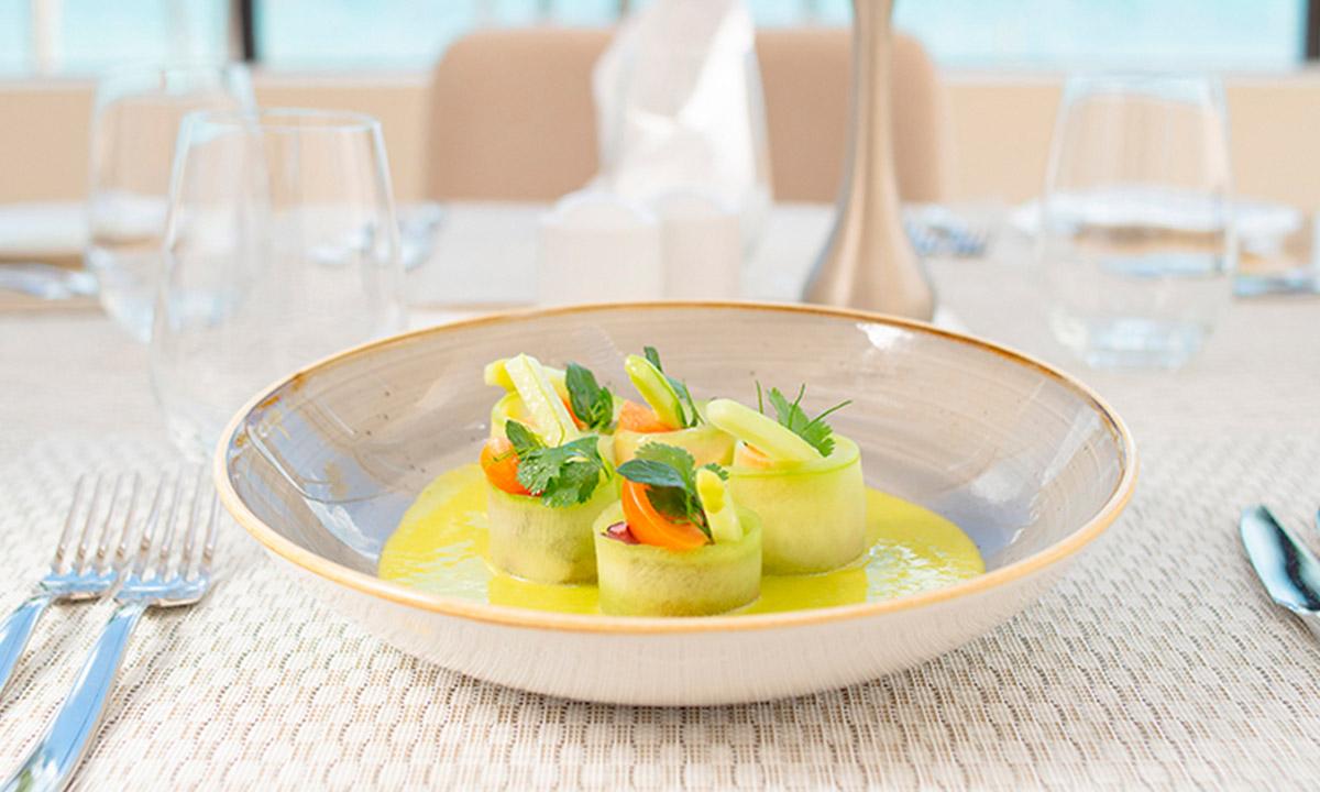 garza blanca gourmet restaurants